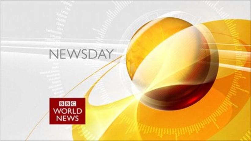 Logo for BBC Newsday