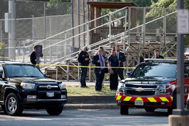 Police investigating shooting at baseball field