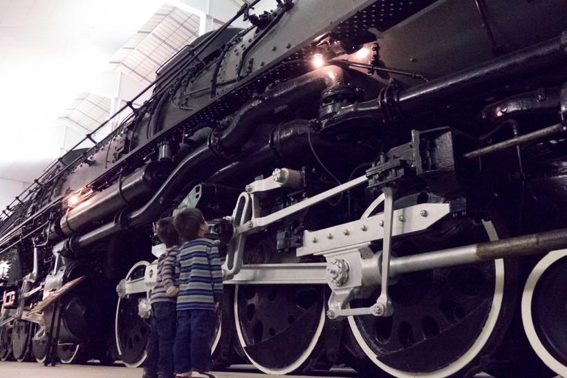 Big Boy Train 2016 Children Kids National Railroad Museum