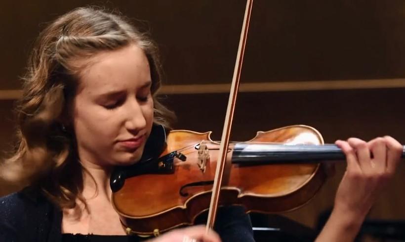 Photo of violinist AriannaBrusubardis