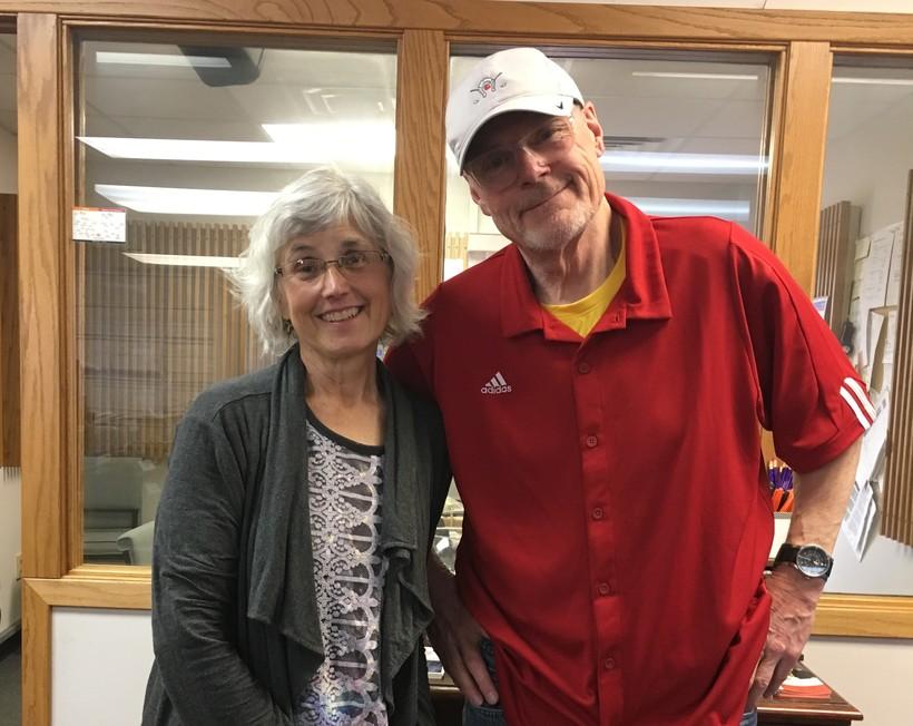 Debbie Brown and Al Ross