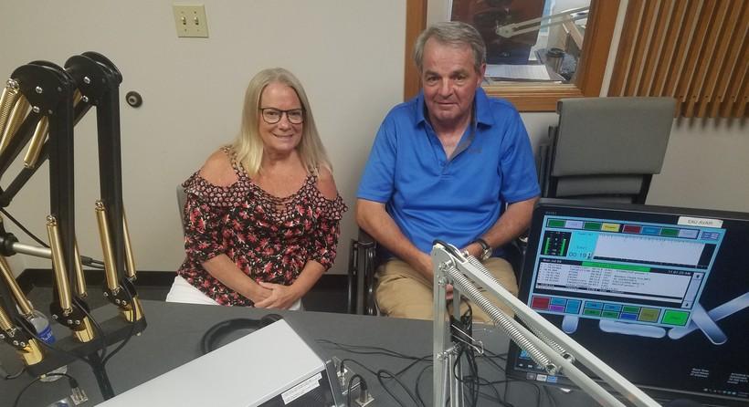 Elizabeth Riley and Tom Wymore