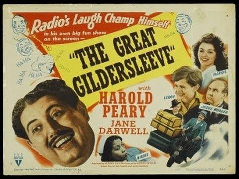 Promotional illustration for the radio program The Great Gildersleeve