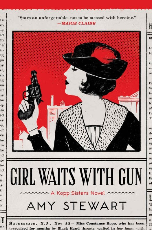 Book Cover for Girl Waits With Gun by Amy Stewart