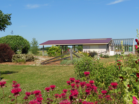 Harmony Arboretum Greenhouse