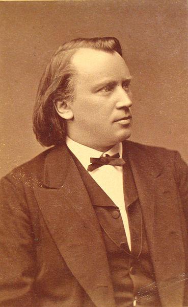 Johannes Brahms in 1876