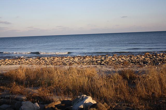 Lake Michigan at Sheboygan