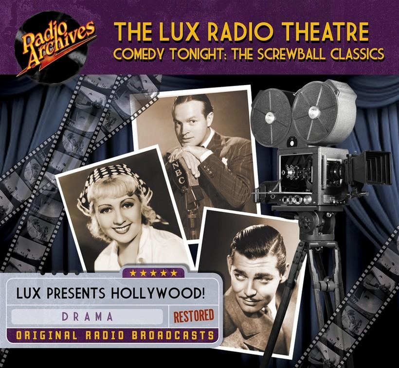 Illustration for the radio program Lux Radio Theater