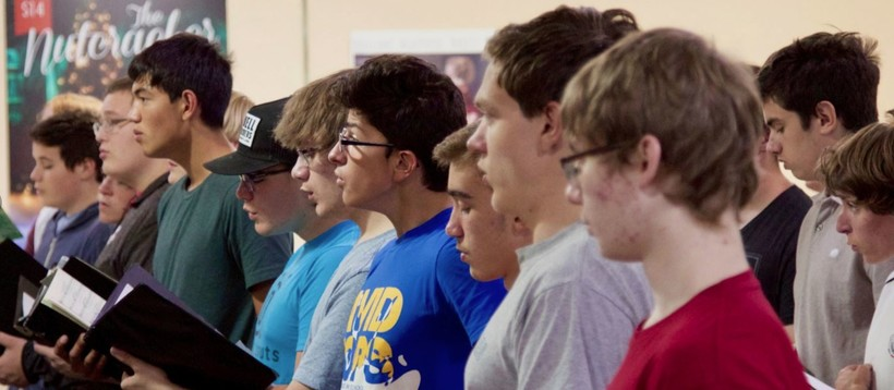 Photo of members of the Madison Youth Choir
