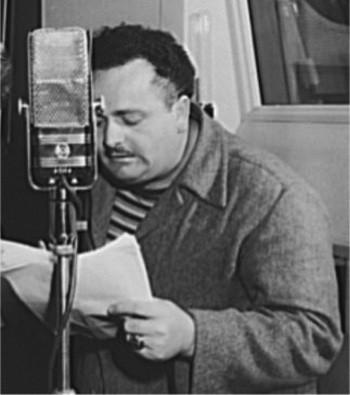 Photo of radio actor Lou Merrill from Crime Classics