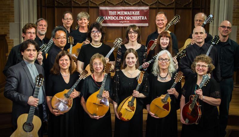 Photo of the Milwaukee Mandolin Orchestra
