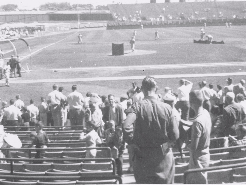 (Milwaukee County Stadium Sept 1960)