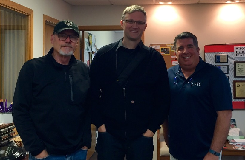 Al Ross, Nick Meyer and Kevin Brown