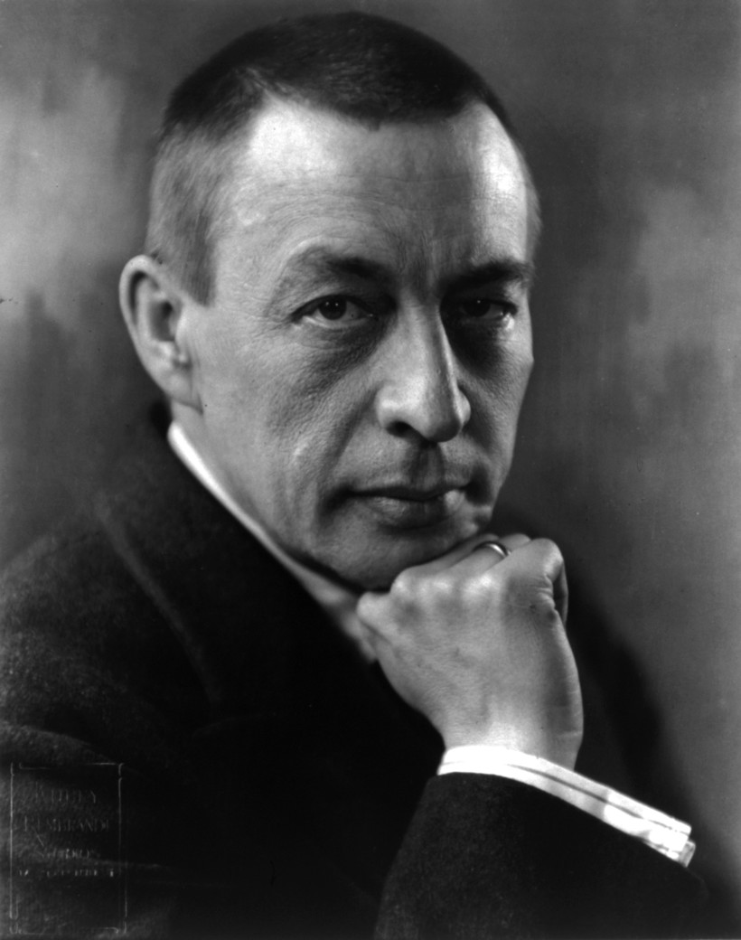 Photo of composer Sergei Rachmaninoff