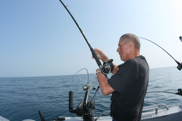 Terry Green fishing