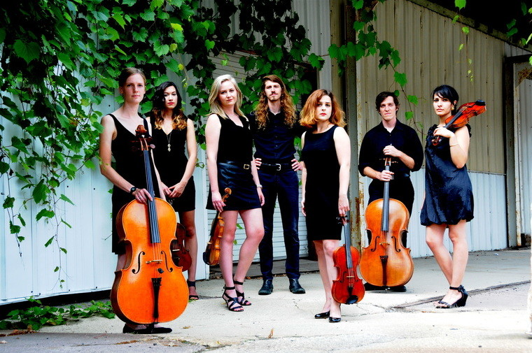 Photo of members of the Willy Street Chamber Players