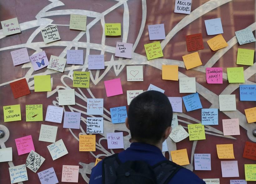 wall of empathy in San Francisco