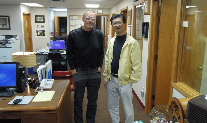 Al Ross and Nobuyoshi Yasuda