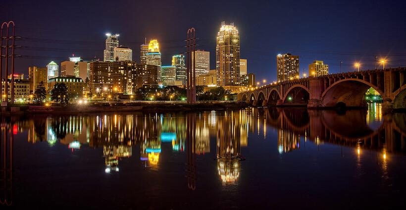 Mississippi River, Minneapolis.