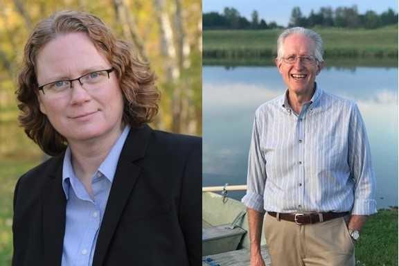 Margaret Engbretson and Brian Ewert