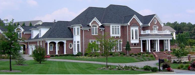 Large brick house