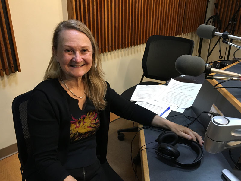 photo of Mimmi Fulmer in WPR's studios