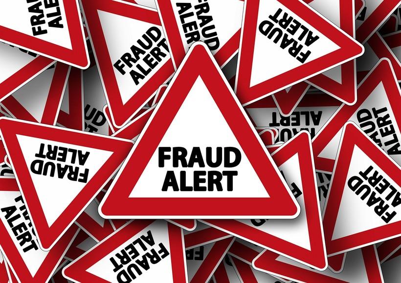 Fraud alert signs