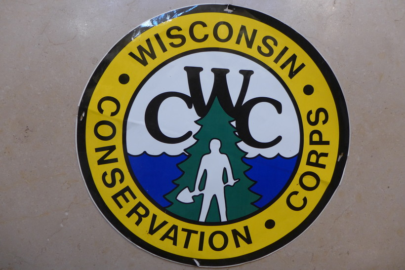 Wisconsin Conservation Corps sticker