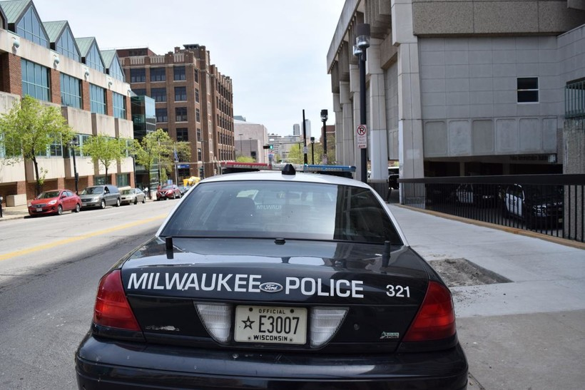 Milwaukee police car