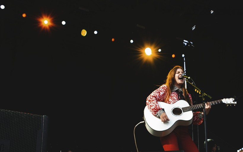 British singer-songwriter Jade Bird performs.