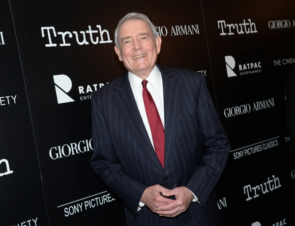 """Television journalist Dan Rather attends a special screening of """"Truth"""" at The Museum of Modern Art"""
