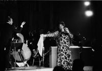 Famed jazz singer Ella Fitzgerald performs at the Empire Room