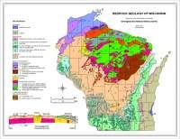 Bedrock Geology of Wisconsin
