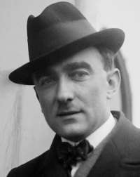 Photo of composer Karol Szymanowski