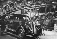 Nash Motors assembly line