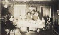 1890 Christmas dinner