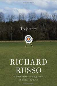 Book Cover for Trajectory by Richard Russo