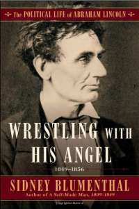 Book cover for Wrestling With His Angel by Sidney Blumenthal