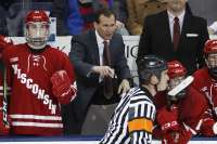 Wisconsin men's hockey head coach Tony Granato