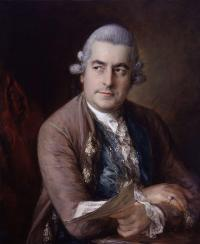 Portrait of opera composer Johann Christian Bach