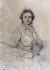 Portrait of Niccolò Paganini