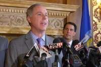 Speaker Vos and Governor Walker