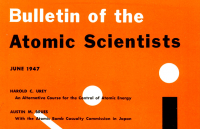 A 1947 issue of the Bulletin