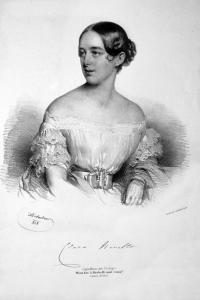 Photo of soprano Clara Novello