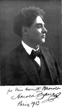 Photo of pianist Harold Bauer