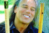 Photo of flutist Peter Phippen