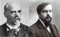 Composers Dvorak and Debussy