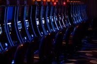 File photo of slot machines
