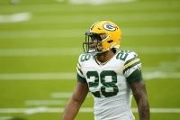 Packers running back AJ Dillon