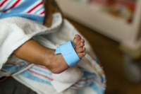 Newborn baby's foot
